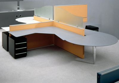 Mario Bellini. Марио Беллини. Extra Dry. Panel based office furniture system. Marcatré. 1993