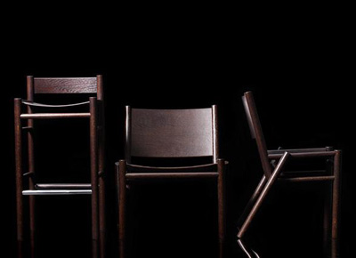Tom Dixon. Том Диксон. Peg Lounge Chair Stained Brown Oak