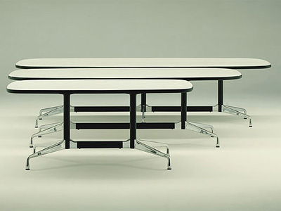 Charles & Ray Eames. Чарльз и Рэй Эймс. Conference / Meeting Table. 1950