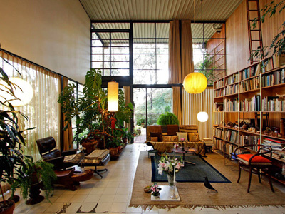 Charles & Ray Eames. Чарльз и Рэй Эймс. Дом-студия Эймс. Eames House. Case Study House №. 8. 1949 г.