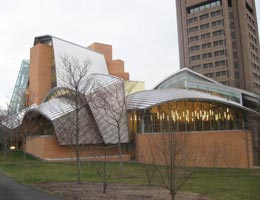 Фрэнк Гери. Frank Gehry: Peter B. Lewis Library, Princeton University, New Jersey, USA, 2008