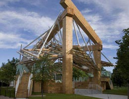 Фрэнк Гери. Frank Gehry: Temporary Pavilion for the Serpentine Gallery, Kensington Gardens, London, England, 2008