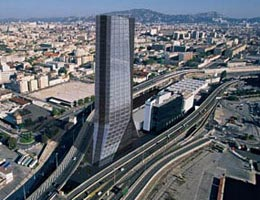 Заха Хадид. Zaha Hadid Architects: CMA CGM Headquarters Tower, Marseille, France, 2005—2010