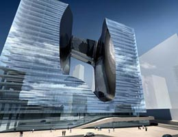 Заха Хадид. Zaha Hadid Architects: «OPUS» Office Tower, Dubai, UAE, 2007—2010