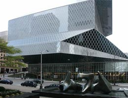 Rem Koolhaas. Рем Колхас. OMA: Seattle Public Library, Seattle, Washington, USA (Центральная библиотека, Сиэтл, США), 2004