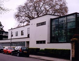Erich Mendelsohn. Эрих Мендельсон: Дом Коэна, Челси, Лондон. Cohen house, Chelsea, London (1934—1936)