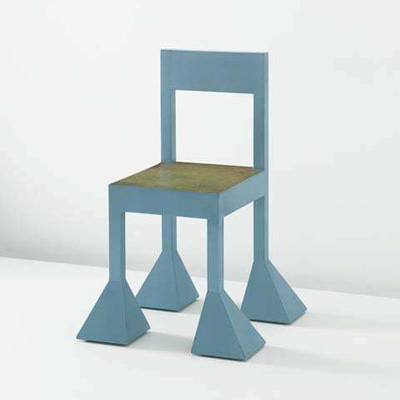 Alessandro Mendini. Алессандро Мендини. Spaziale chair, 1981