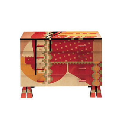 Alessandro Mendini. Алессандро Мендини. Commode Calamobio, 1985