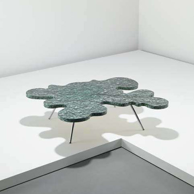Alessandro Mendini. Алессандро Мендини. Ondoso coffee table, 1978