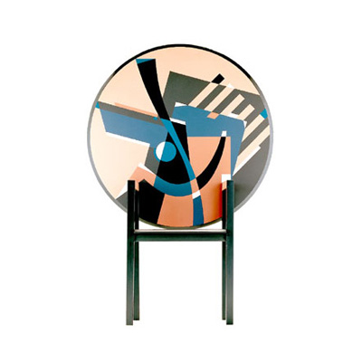 Alessandro Mendini. Алессандро Мендини. Zebra chair, 1984