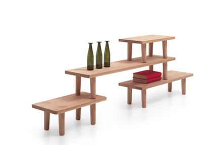Jasper Morrison. Джаспер Моррисон. Oak Tables. Cappellini. 2006