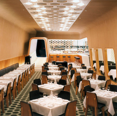 Marc Newson. Марк Ньюсон. Lever House Restaurant & Bar, New York, 2003