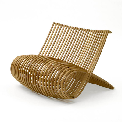 Marc Newson. Марк Ньюсон. Wood Chair, 1988