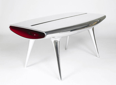 Marc Newson. Марк Ньюсон. Event Horizon Table, 1992