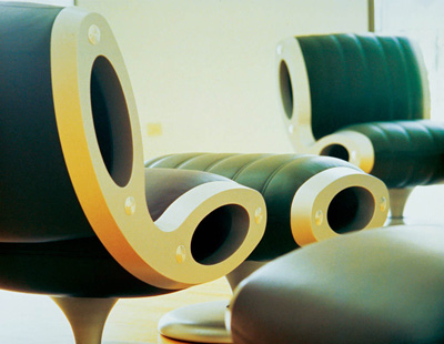 Marc Newson. Марк Ньюсон. Gluon Chair, 1993