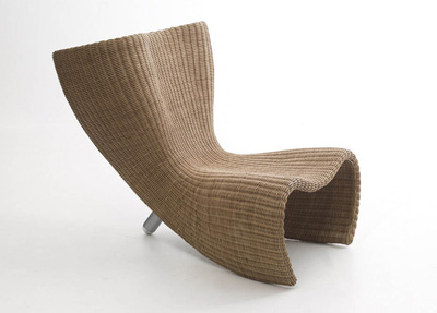 Marc Newson. Марк Ньюсон. Wicker Chair, 1990