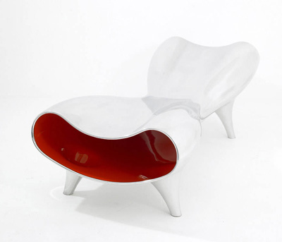 Marc Newson. Марк Ньюсон. Orgone Stretch Lounge, 1993