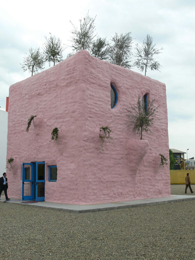 Gaetano Pesce. Гаэтано Пеше. Pescetrullo. Pink Pavillion Exhibition. 2008
