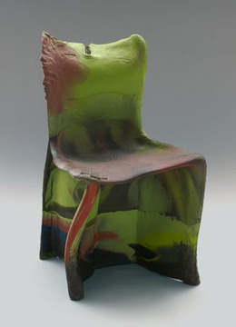 Gaetano Pesce. Гаэтано Пеше. Pratt chairs. 1983