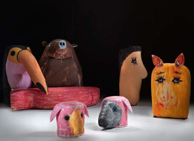 Gaetano Pesce. Гаэтано Пеше. Gli amici (friends). 2009