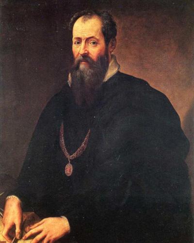 Джорджо Вазари (Giorgio Vasari). Автопортрет. Галерея Уффици, Флоренция