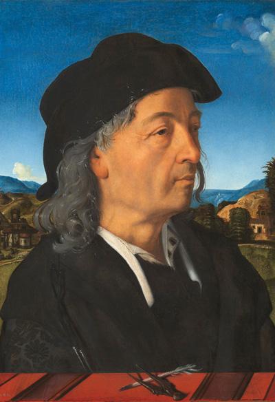 Портрет Джулиано да Сангалло, худ. Пьеро ди Козимо, 1500—1520 гг.