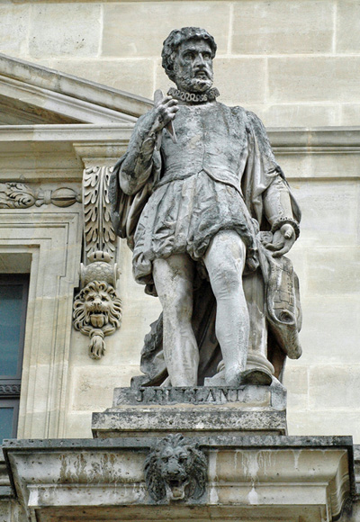 Жан Бюллан (Jean Bullant). Aile Mollien, Лувр, Париж. Pierre Alfred Robinet (1857)