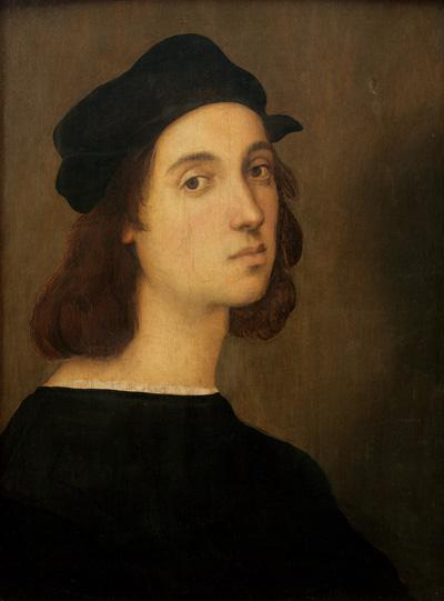 Рафаэль Санти. Raffaello Santi. Автопортрет