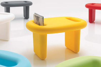 Karim Rashid. Карим Рашид. B-Line Snoop Table, 2011