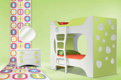 Karim Rashid. Карим Рашид. Us4 Childrens Bedroom Collection, 2009