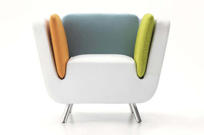 Karim Rashid. Карим Рашид. Nook Arm Chair, 2012