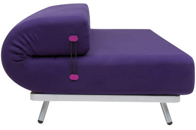 Karim Rashid. Карим Рашид. Softline Rullo Convertible Couch-Bed, 2011