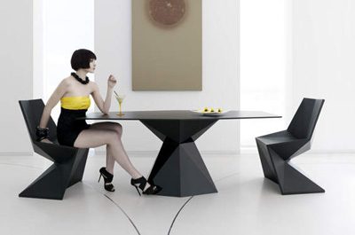Karim Rashid. Карим Рашид. Vertex Dining Set, 2010