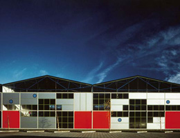 Ричард Роджерс (Richard Rogers): Maidenhead Industrial Units, Maidenhead, England, UK (фабричные здания), 1982—1985