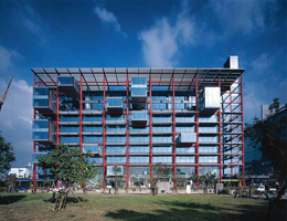 Ричард Роджерс (Richard Rogers): Ching Fu Group Headquarters, Kaohsiung, Taiwan (офисное здание), 2005—2007