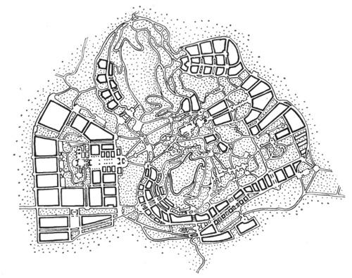 Проект планировки курорта
