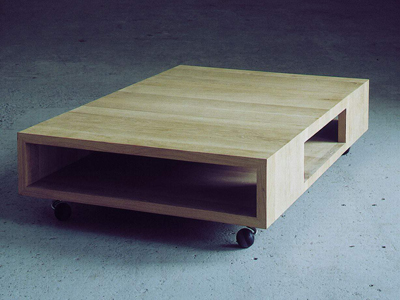 Maarten van Severen. Маартен ван Северен. Low Table, Aiki, 1992