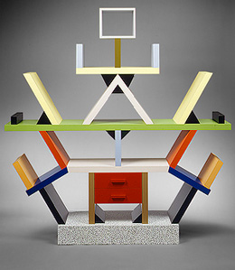 Ettore Sottsass. Этторе Соттсасс. Carlton cabinet for Memphis, 1981