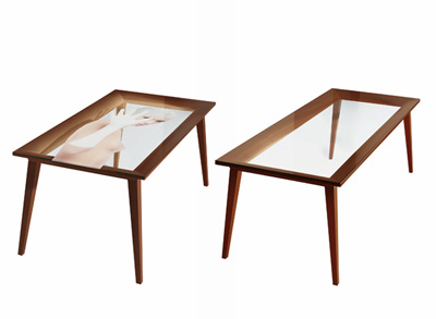 Philippe Starck. Филипп Старк. Frame Table. Driade 2007