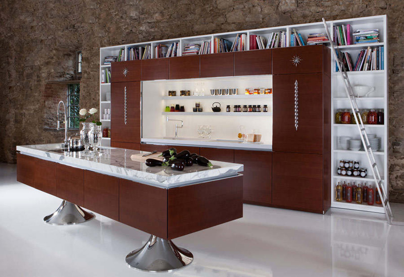 Philippe Starck. Филипп Старк. Kitchen Library, Warendorf 2009