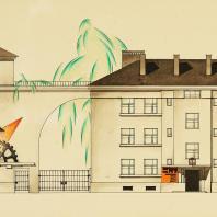 А.И. Гегелло. Жилая застройка Тракторной улицы (1925—1927)
