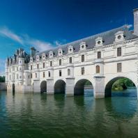 Мост замка Шенонсо. Филибер Делорм / Château de Chenonceaux. Philibert Delorme