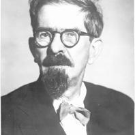 Архитектор Лев Владимирович Руднев (1885-1956) 1946 г. Фотография ЦГАКФФД
