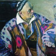 Алексей Викторович Щусев (1873—1949). Портрет. 1941 г. Художник М.В. Нестеров