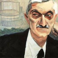 Портрет архитектора Александра Таманяна. Х., м. 73x92. Ереван. 1933