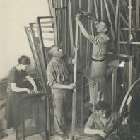 Владимир Евграфович Татлин. Памятник III Интернационалу. 1920