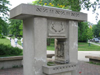 Фрэнк Ллойд Райт (Frank Lloyd Wright): Horse Show Fountain, Oak Park, Illinois (Фонтан «Scoville Park», Оак-Парк, Иллинойс), 1903—1909; перестроен в 1969