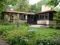 Фрэнк Ллойд Райт (Frank Lloyd Wright): Avery Coonley Gardner's Cottage, Riverside, Illinois (Коттедж Эйвери Кунли, Риверсайд, Иллинойс), 1911