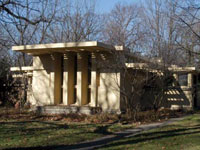 Фрэнк Ллойд Райт (Frank Lloyd Wright): Avery Coonley Playhouse, Riverside, Illinois (Дом для игр Эйвери Кунли, Риверсайд, Иллинойс), 1912