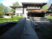 Фрэнк Ллойд Райт (Frank Lloyd Wright): Meyer May House, Grand Rapids, Michigan (Дом Майера Мея, Гранд-Рэпидс, Мичиган ), 1908